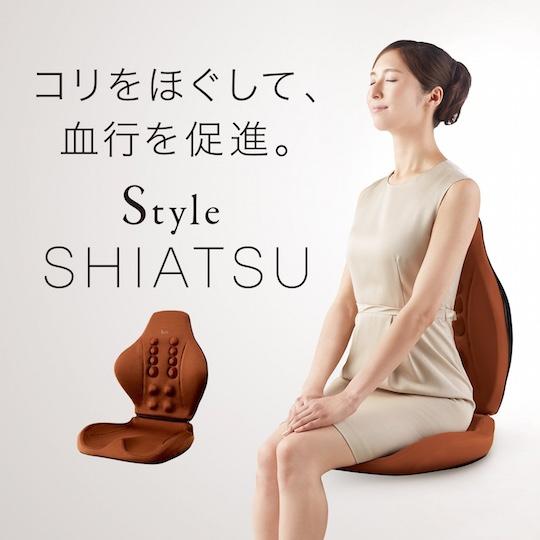 Style Shiatsu Back Support Chair