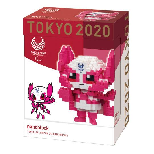 Tokyo 2020 Olympics Nanoblock Mascots