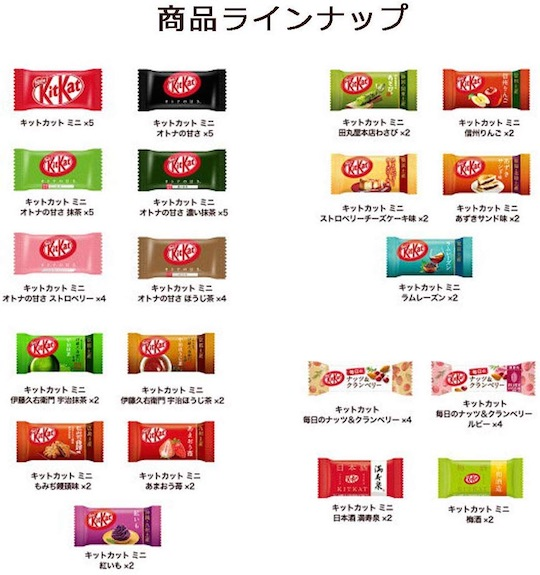 Japanese Kit Kat Variety Party Box (20 Flavors)