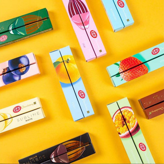 Nestle Japan Kit Kat Chocolatory Gift Box