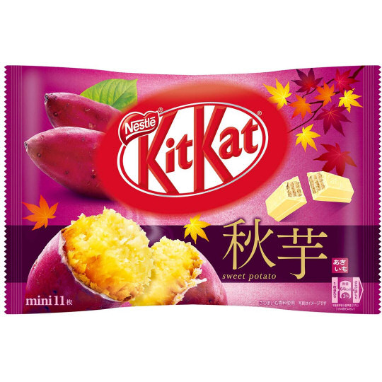 Kit Kat Mini Autumn Sweet Potato (Pack of 11)