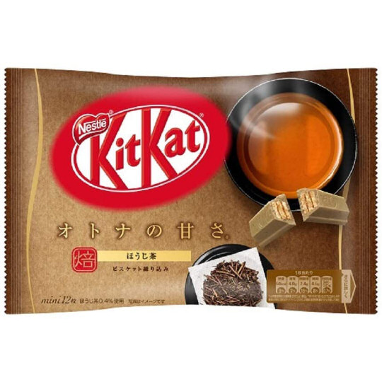 Kit Kat Mini Hojicha Roasted Tea (Pack of 12)