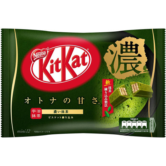 Kit Kat Mini Thick Matcha Tea (Pack of 12)