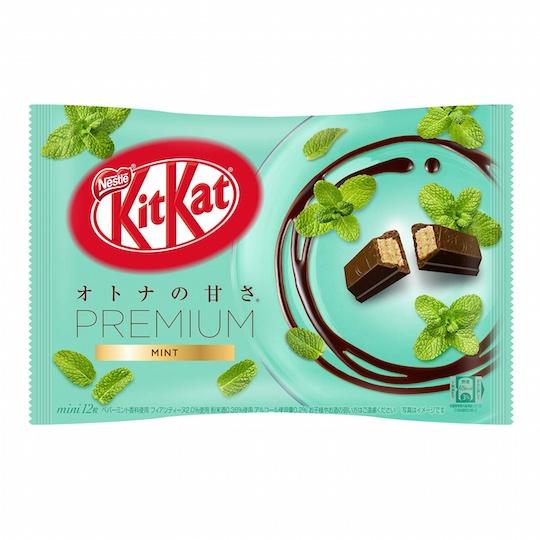 Kit Kat Mini Premium Mint and Peach Mint (12 Pack)