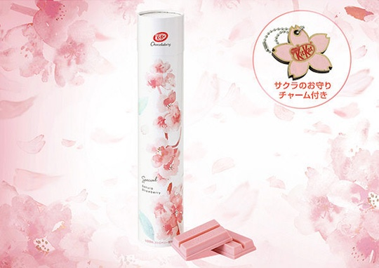 Kit Kat Chocolatory Sakura Cherry Blossom Strawberry Special Set