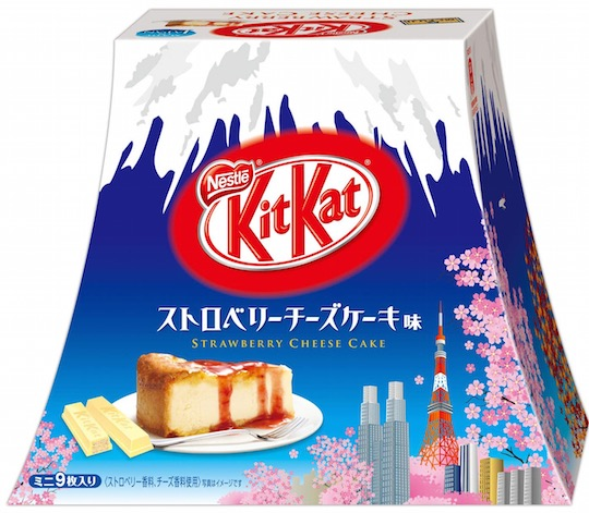 Kit Kat Mini Strawberry Cheesecake Mount Fuji (9 Pack)