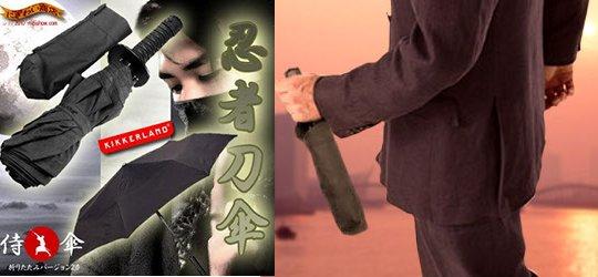 Ninja Dagger Collapsible Umbrella