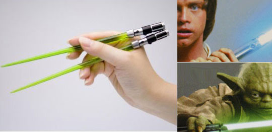 Star Wars Light Saber Chopsticks