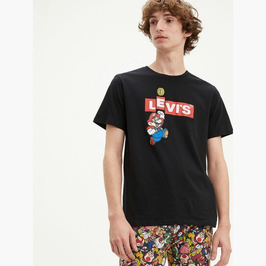 Levi's X Super Mario Box Tab Bing T-Shirt