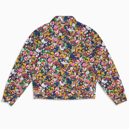 Levis X Super Mario Vintage Fit Trucker Jacket SM Collage