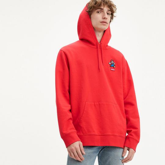 Levi's X Super Mario Graphic Pullover Hoodie