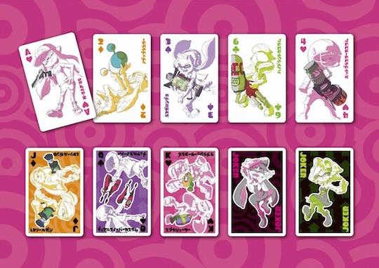 Splatoon Playing Cards Set