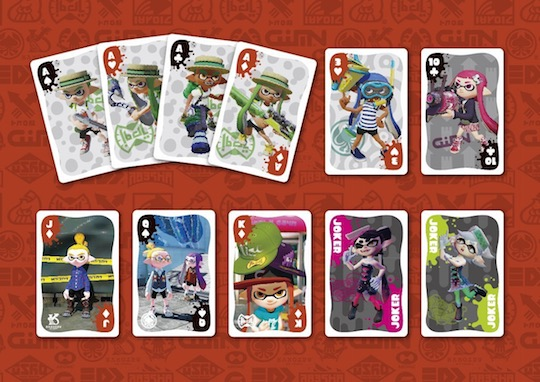 Splatoon Playing Cards Set