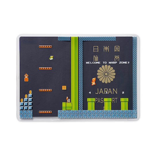 Super Mario Passport Cover Underground Level Theme