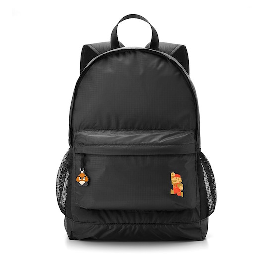Super Mario Collapsible Travel Backpack