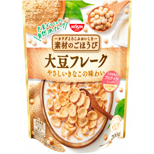 Nissin Soybean Flakes (6 Pack)