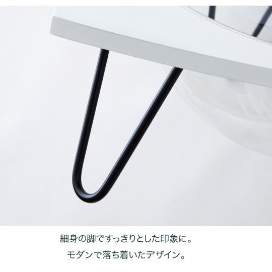 Clear Capsule Table Cat Bed