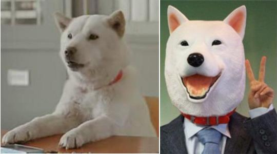 Softbank Otousan Dog Mask
