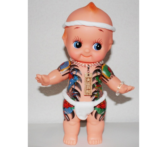 Yakuza Tattoo Kewpie Doll