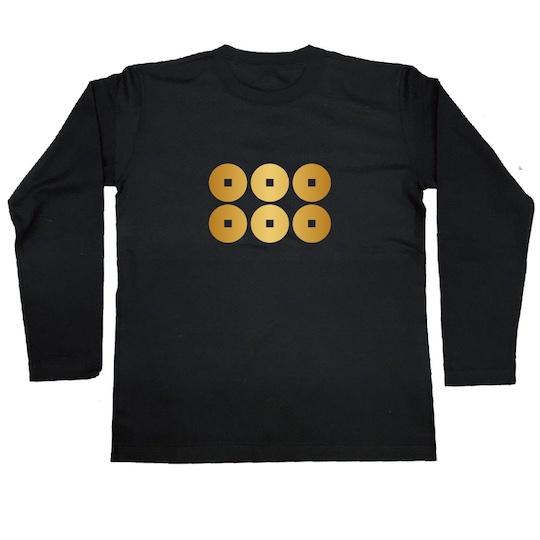 Sanada Rokumonsen Samurai Warrior Family Crest T-Shirt