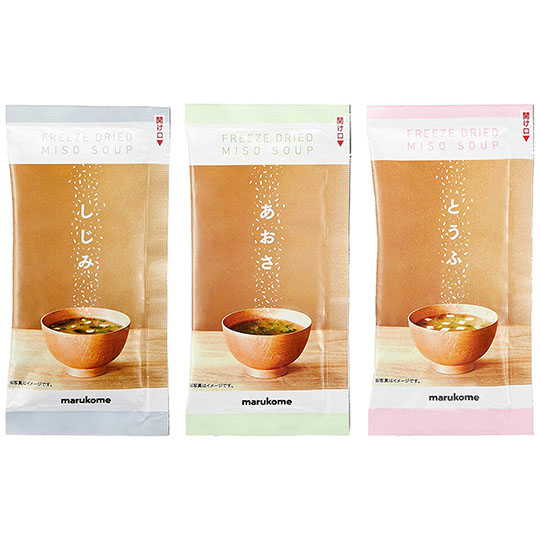 Solimo Freeze-dried Miso Soup (Pack of 30)