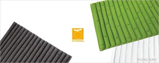 Chikurin Badezimmermatte im Bambus-Design