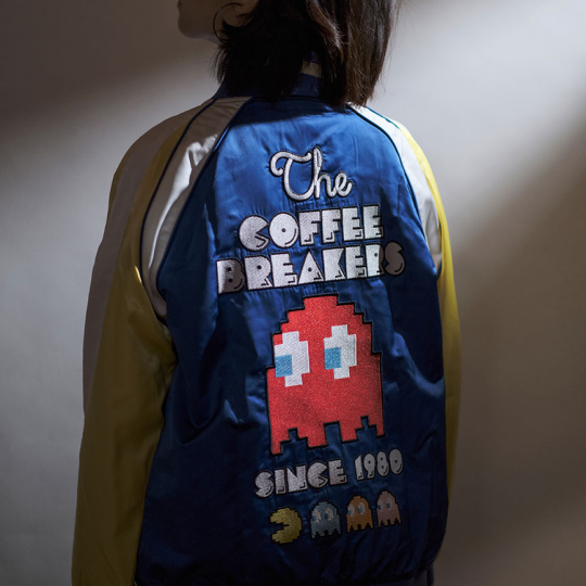 Pac-Man 40th-Anniversary Commemorative Blouson