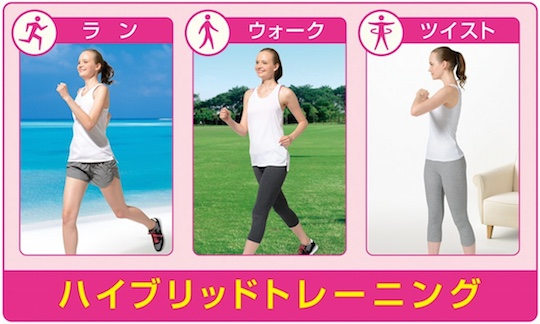 Panasonic Beauty Training Waist Exerciser ES-WB60