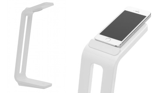 SnapLite Desk Lamp iPhone5 Scanner