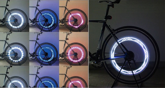 Ferris wheeLED Bicycle Light PIAA