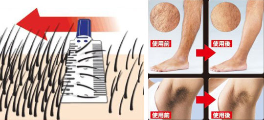 japan trend shop | mudage jolie body hair thinner
