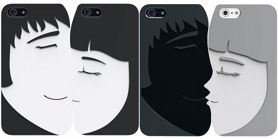 Ozaki O!coat Lover+ iPhone 5 Cover for Couples