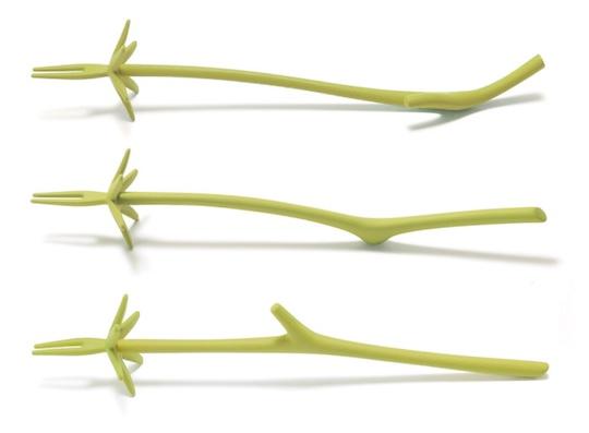 Hetatsuki Plant Stalk Food Picks