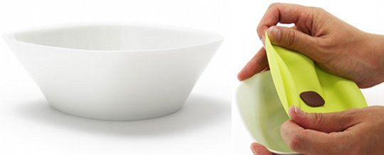 Wrap Bowl tupperware dish