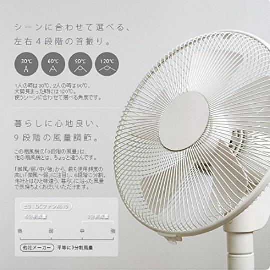 PlusMinusZero Aileron Room Fan Y620
