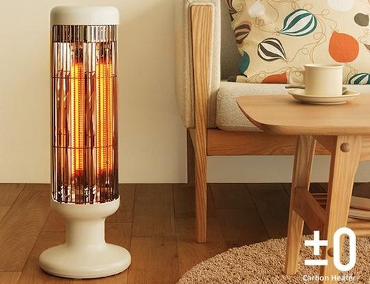 PlusMinusZero Carbon Fiber Heater 1000W
