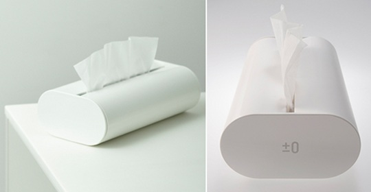 Plus Minus Zero Tissue Case X010
