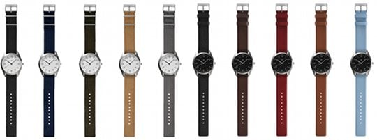 PlusMinusZero Wrist Watch Band Strap