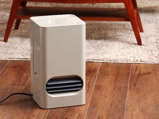 Plus Minus Zero Ceramic Fan Heater-Humidifier X210