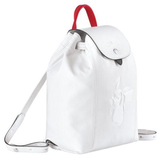 Longchamp Pokemon Backpack White