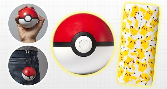 Poke Ball Pikachu Pokemon Mobile Battery