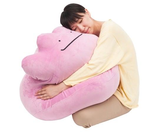 Pokemon Ditto Metamon Huggable Giant Cushion