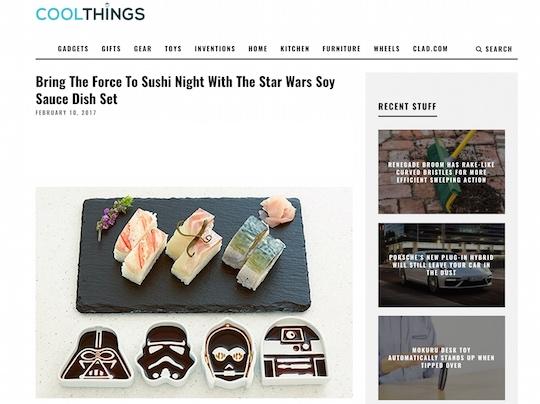cool things star wars soy sauce dish set