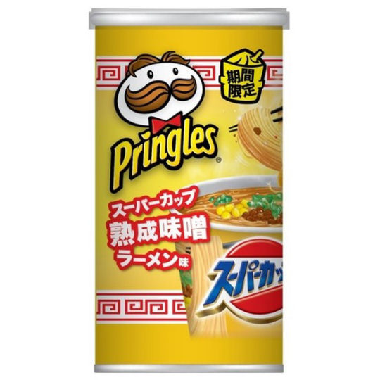 Pringles Super Cup Aged Miso Ramen Flavor (12 Pack)