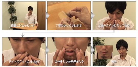 Propia Hige Japanese Fake Beard