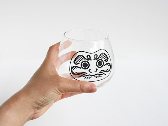 Daruma Glass (Set of Two)