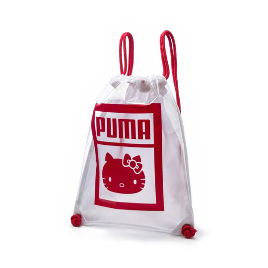 697ed42da5 Puma Hello Kitty Gymsack. Sanrio character sports workout bag