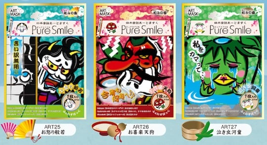 Japanese Folklore Face Packs