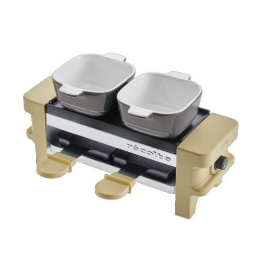 Combined Raclette Melter and Fondue Maker