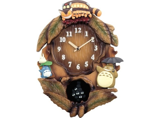 My Neighbor Totoro Tree Wall Clock